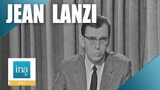 1965 : Jean Lanzi présente le journal de 20h de l'ORTF | Archive INA