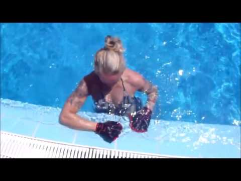 Aqua Fitness: Webbed Gloves & Resistance Band - Water Workout - Bulgaria