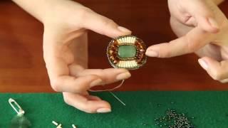 Как сделать брошку из бисера своими руками - МАСТЕР-КЛАСС