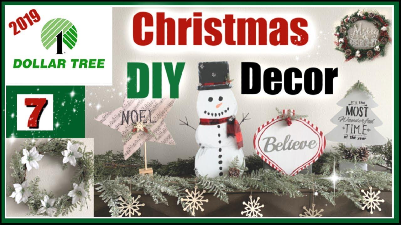 DOLLAR TREE CHRISTMAS DIY Decor 2019