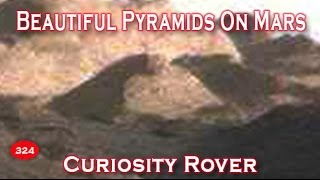 Beautiful Pyramids On Mars Imaged By Curiosity Rover!!