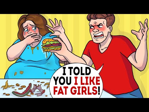 Download My boyfriend forces me to get super fat to marry me!