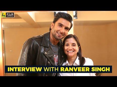Interview with Ranveer Singh   Padmaavat   Anupama Chopra