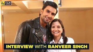 Interview with Ranveer Singh | Padmaavat | Anup...