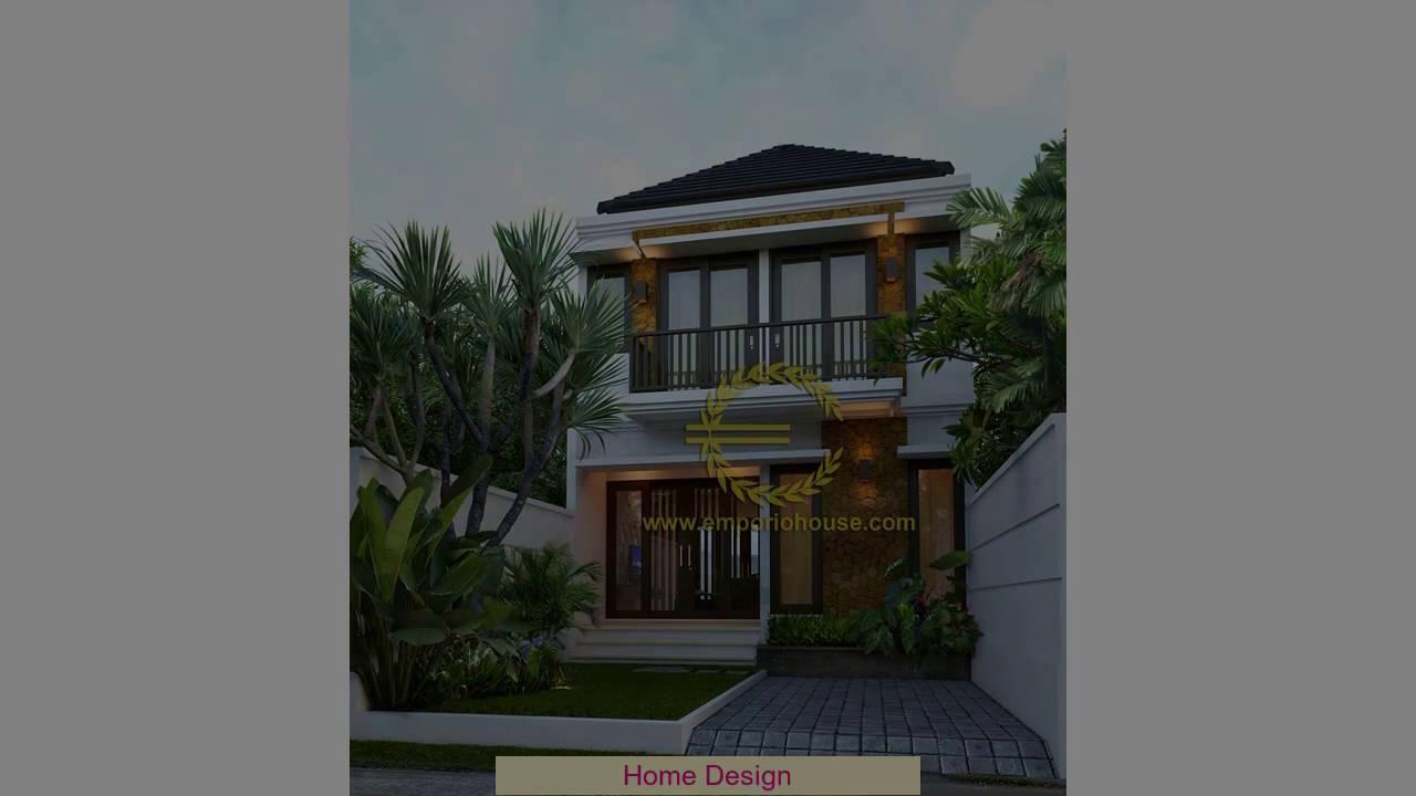 Desain Rumah Minimalis 2 Lantai 6x12 Youtube