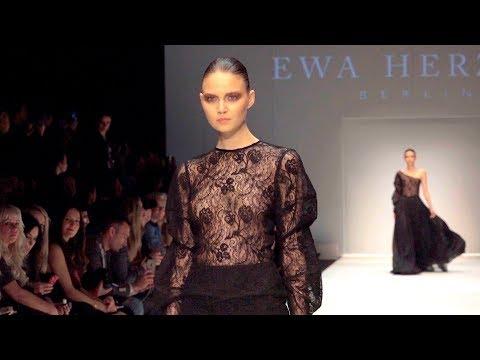 EWA HERZOG AW2018/9 MBFW Berlin In 4K......Fashionweekly...On Fow24news.com