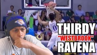 MORE BOUNCE THAN WESTBROOK ?? THIRDY RAVENA HIGHLIGHT REACTION
