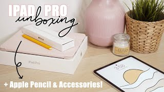 Ipad Pro 2020 Unboxing 2020! | + Apple Pencil 2 & Accessories!