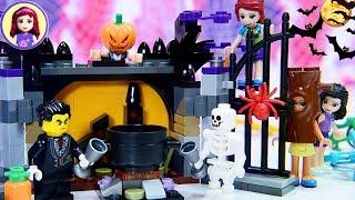 Lego Halloween Haunt Set Build - Make Pumpkin Head Potion Silly Story