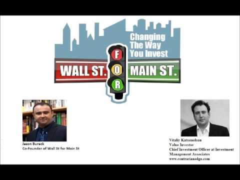 Vitaliy Katsenelson Top Value Investor- There's Value In the Stock Market