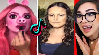 Crazy Makeup Transformations on Tik Tok