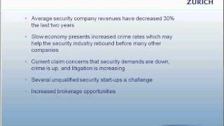 Security Guard Insurance, Detective and Alarm Company Insurance- 1 of 3