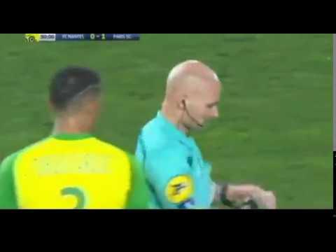 Referre Funny Red Card Fail PSG VS FC Nantes