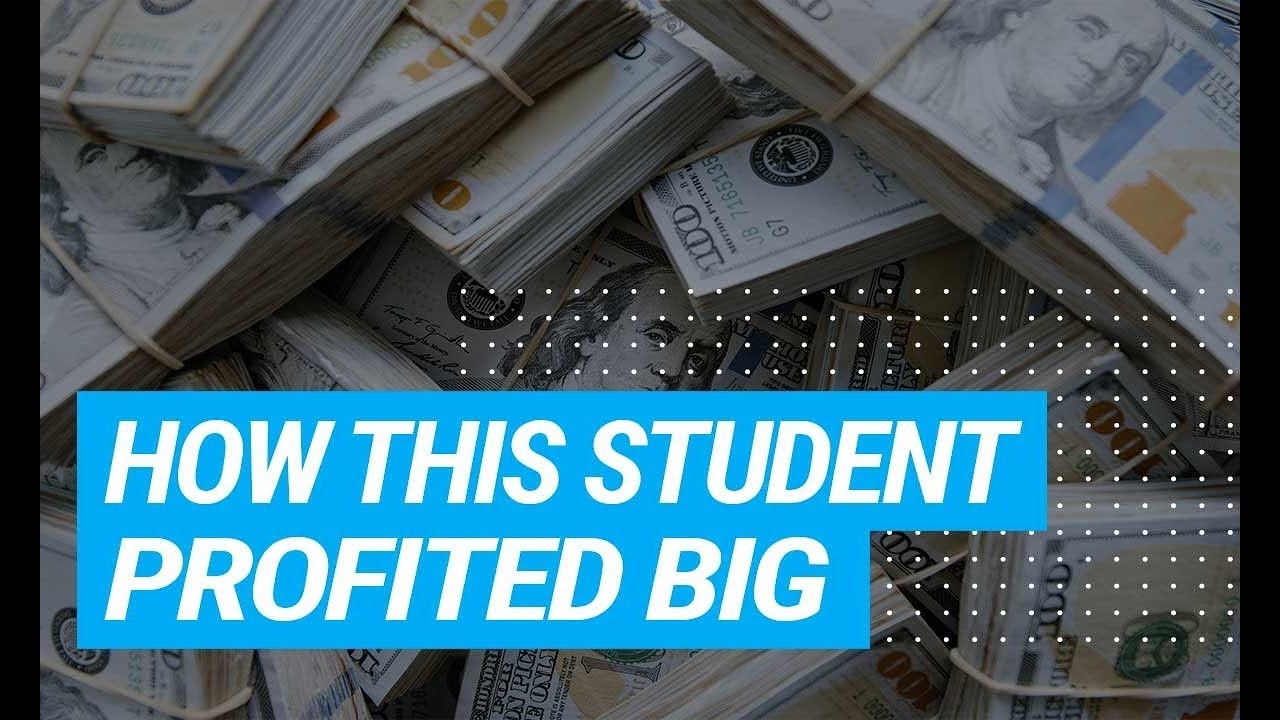 How This Student Profited BIG In 3 Months