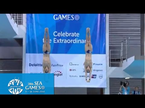 Aquatics Diving Men's 10m Synchronised Platform Final (Day 1) | 28th SEA Games Singapore 2015