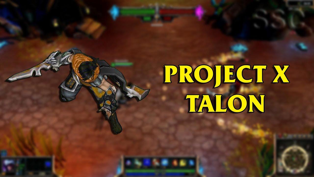 Project x talon lol custom skin showcase youtube