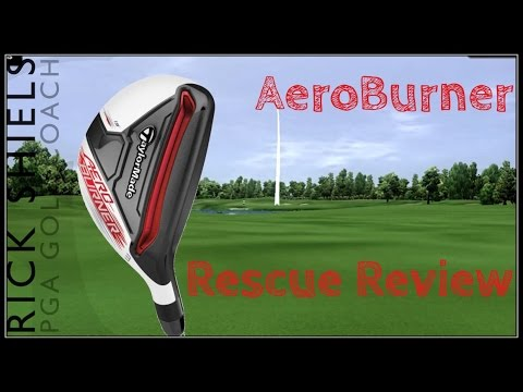TaylorMade Aeroburner Rescue Hybrids   Specs & Reviews