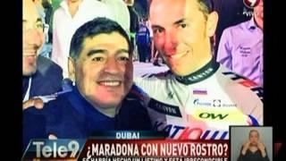 ¿Maradona con nuevo rostro? Se habría hecho un lifting y está irreconocible