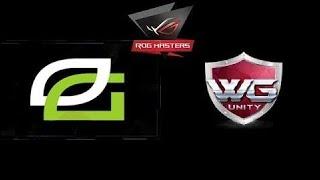 Dota 24/7 OpTic Gaming vs WG.Unity ROG MASTERS 2017 Highlights Dota 2