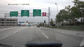 YYZ Toronto Pearson Airport Terminal 3 Departures - car blackbox camera F500LHD