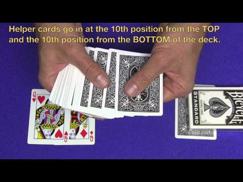 Simply Amazing Self Working Card Trick