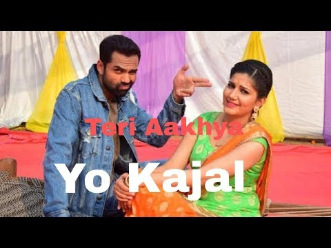 Hit Song Teri Akhya Ka Yo Kajal /Lyrics Video /New Haryanvi Song 2018 Sonotek