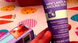 Lansinoh HPA Lanolin 100% natural and preservative free for Breast feeding/Lip balm