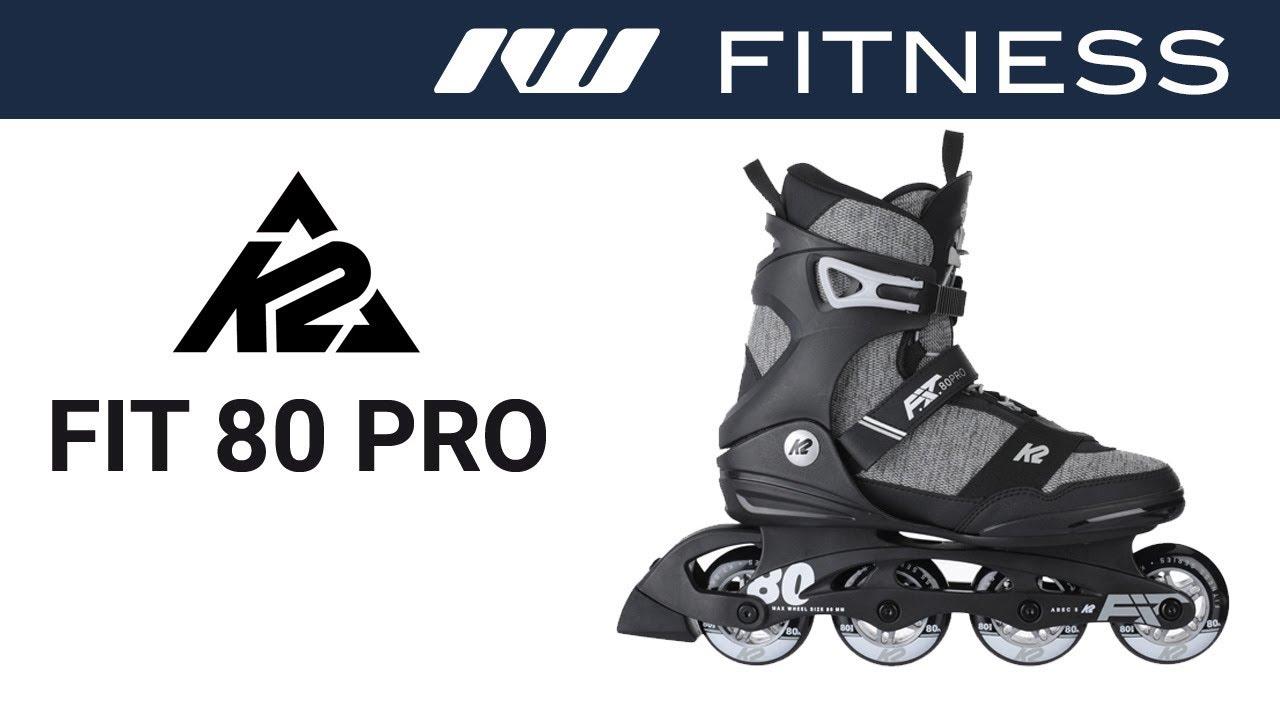 9b7e4d487bc0e1 K2 FIT 80 Pro Skates for Men 2019 - YouTube