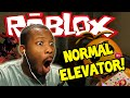 ROBLOX: NORMAL ELEVATOR! - SCARY STOPS! - Part (1)