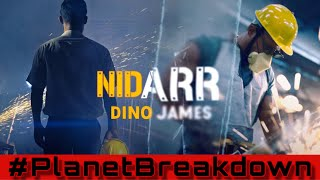 THIS HIT HOME !! | DINO JAMES x NIDARR | REACTION | PLANET BREAKDOWN