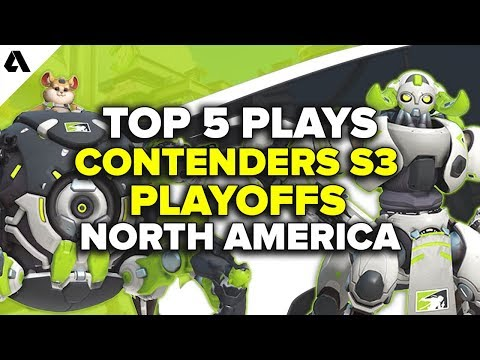 Top 5 Overwatch Contenders S3 Playoff Plays - North America thumbnail