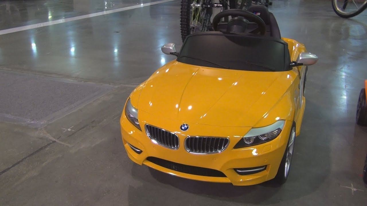 Bmw Z4 6v Electric Car Exterior And Interior Youtube