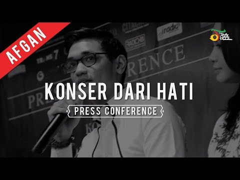 Afgan - Konser Dari Hati | Press Conference