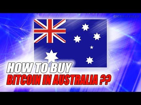 BUY BITCOIN IN AUSTRALIA !! BEST WAY 2017