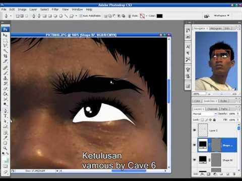 Cara Membuat VECTOR dengan Photoshop [ 1 ] | Doovi