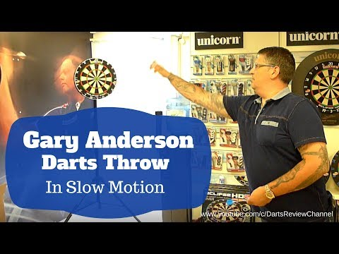 Download Youtube: Gary Anderson darts throw in slow motion