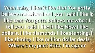 I Like It lyrics - Cardi B,J Balvin ft.Bad bunny | Lyrical video