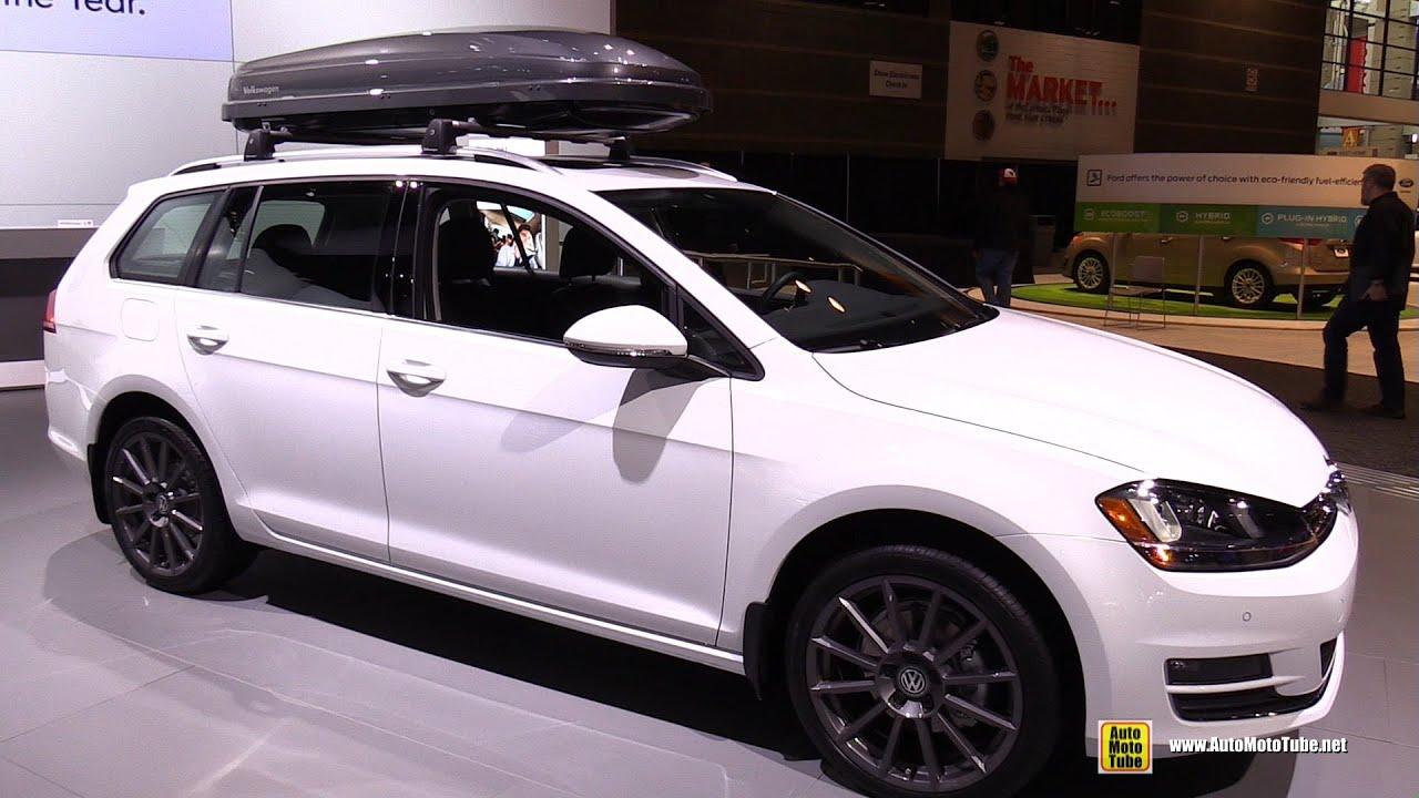2015 Volkswagen Golf Sportwagen Tdi Exterior And
