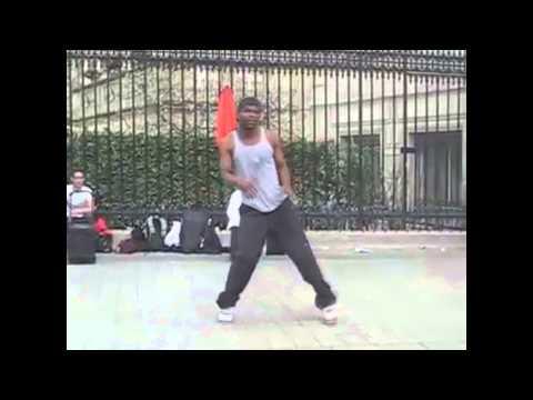 Талант крутой уличный танцор