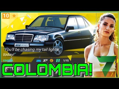 RACING IN MY HOME COUNTRY COLOMBIA! | Top Drives