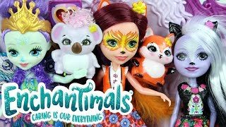 Enchantimals • Lalki + Zwierzaki • Zaklęte drzwi • Unboxing