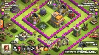 Clash of Clans #4 Gringo me da uma surra #SQN