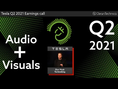 Tesla Q2 2021 Earnings Call (Better sound, no uhms or pauses)