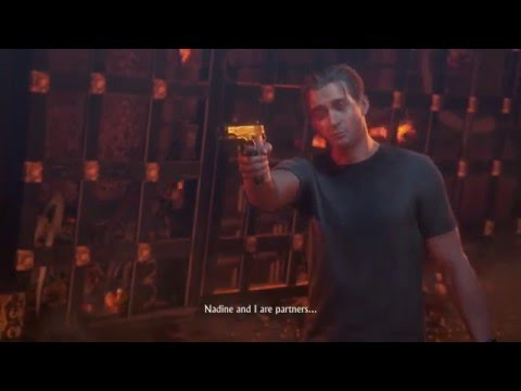 Uncharted 4 A Thief S End Chap 22 Nadine Points Gun At Rafe Avery Tew Dead Cutscene Youtube