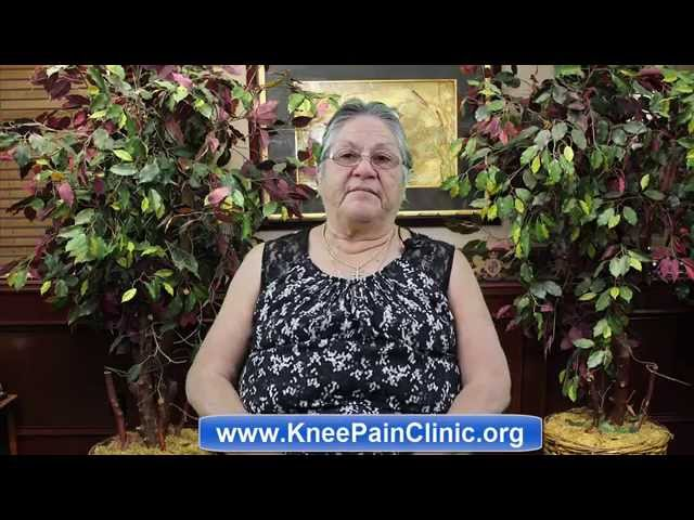 Knee Pain Clinic of McAllen   Ms. Sandoval English Review