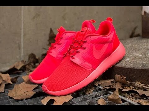 1c564f7b086a Nike Roshe Run  Red Octobers  Laser Crimson