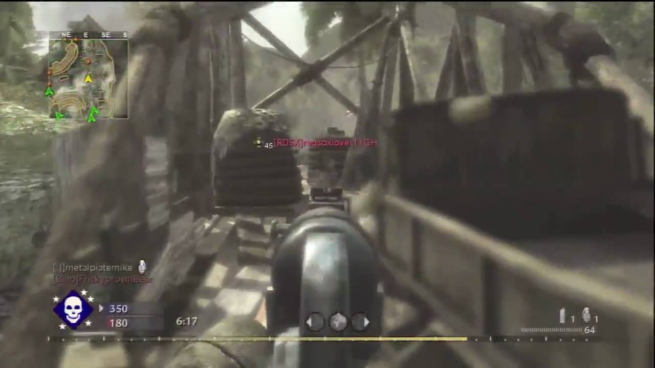 Call of Duty 5 World at War - Map Pack 2 - Banzai - YouTube