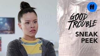 Good Trouble Season 1, Episode 3 | Sneak Peek: Mariana's Manager Steals Her Idea  | Freeform