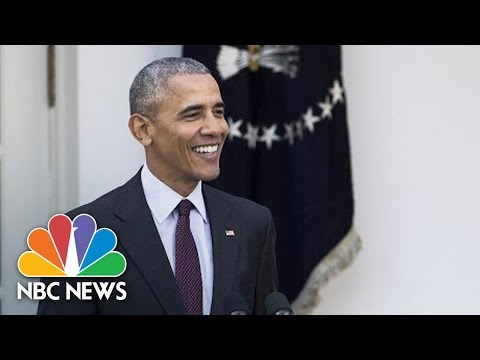 'Yes We Cran': President Obama's Best Turkey Pardon Dad Jokes | NBC News