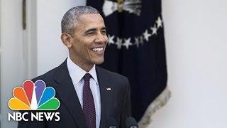 'Yes We Cran': President Obama's Best Turkey Pardon Dad Jokes | NBC News